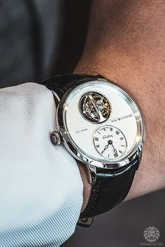 An absolute classic style, with a classic crisp white shirt. #TheJewelleryEditorLoves #WatchesforHim