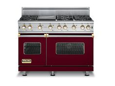 My dream Range: The Custom 48 Inch Sealed Burner Gas Range - Viking Range Corporation