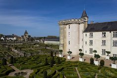 Los impresionantes jardines de Villnadry, uno de los grandes castillos del Loira