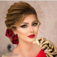 58 Ideas Wedding Hairstyles Brown Make Up 58 Ideen Hochzeitsfrisuren Brown Make Up Indian Wedding Hairstyles, Bride Hairstyles, Cool Hairstyles, Bridal Hair Buns, Bridal Hairdo, Wedding Hair And Makeup, Hair Makeup, Eye Makeup, Bridal Makeup Looks