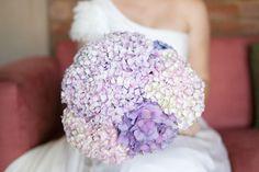 Light lavender hydrangeas: http://www.stylemepretty.com/2015/04/14/20-pastel-bouquets-for-the-bride/
