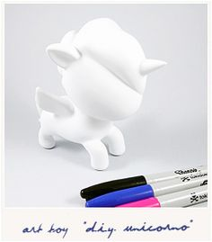 DIY Unicorno Tokidoki figurine