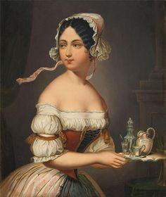 Alexander Mann (1853-1908) — Soubrette, 1883 (840×1000)