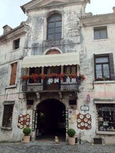 Bassano del Grappa-great little store.  Great historic town.