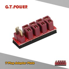 G.T.POWER T Plug Adapter Plate for RC Models