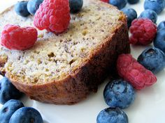 jacked-up banana bread by you can count on me, via Flickr