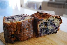 Blueberry-Banana Bread - HowToMakeFood.net
