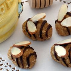 Honey Bee Mines. This recipe would be great for a baby shower, a little one's birthday party or just as a treat for your toddler. Quick and easy!