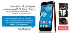 ¿Quieres ir al lanzamiento del espectacular Smartphone ALCATEL ONETOUCH IDOL X en Santo Domingo el próximo martes? Aquí te decimos cómo ganar: https://www.facebook.com/photo.php?fbid=636946913010140&set=a.243005152404320.54388.156419774396192&type=1&theater