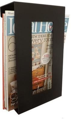 This contemporary wall mounted metal magazine rack will modernise any home or office. If you have a need for storage in the home, office, salon, school or waiting room, this high quality product will complement any environment. Magazines can be mounted in the vertical position. Manufactured in 2mm Steel and Powder Coated, this item is designed to withstand the test of time. Dimensions 32cm x 18cm x 10cm deep. The design of this metal magazine rack lets the rack sit on the wall and when…