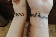 To Infinity And Beyond Tattoo Couple Images & Pictures - Becuo
