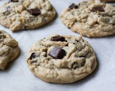 Chocolate Chunk Peanut Butter Cookies (Pamela's Products Gluten Free)