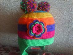 Радужная шапочка