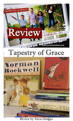 Have you found a homeschool curriculum you and your children absolutely love? One that is a perfect fit for everyone's learning style? A nice match for the age range of your household? That, my friends, is how I feel about Tapestry of Grace. Homeschool Curriculum Reviews, Homeschooling, Tapestry Of Grace, Our Town, Fifth Grade, Norman Rockwell, How I Feel, Language Arts, Art Lessons