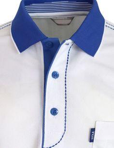 Short Sleeve Dri Fit Stitch Point Polo Shirt-Unisex - Men's style, accessories, mens fashion trends 2020 Polo Shirt Design, Polo Design, Polo Shirt Style, Mens Polo T Shirts, Blue Polo Shirts, Gents Kurta, Kurta Men, Mens Kurta Designs, Mens Designer Shirts
