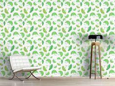 Design #Tapete Ginkgo Blätter