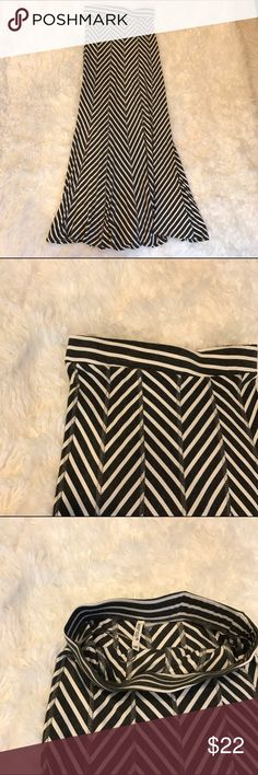 Striped Maxi Skirt New without tags measurements upon request. Reasonable offers considered Skirts Maxi
