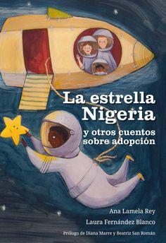El libro consta de una serie de relatos ilustrados, protagonizados por niños adoptados; dichos relatos están inspirados en historias reales de niños y niñas asturianas. La estrella Nigeria nació como una exposición que se hizo papel para celebrar el décimo aniversario de Asturadop. Búscalo en http://absys.asturias.es/cgi-abnet_Bast/abnetop?ACC=DOSEARCH&xsqf01=estrella+nigeria+lamela+rey+fernandez+blanco