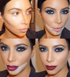 """The Illustrated Guide to 2015's Beauty Buzz Words   How to """"bake"""" foundation like Kim Kardashian"""