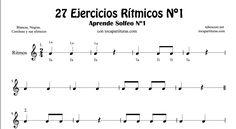ejercicio partitura guitarra para niños - Buscar con Google