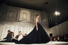 i would like an excuse to wear a big black ballgown