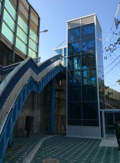 오목교 엘리베이터 공사현장