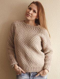 Женский пуловер вязаный спицами - Пуловеры и Джемперы ЕЛЕНА ВЯЗАЛОЧКА В