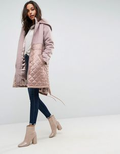 85c25a31b9d Get this Asos s parka now! Click for more details. Worldwide shipping. ASOS  Parka