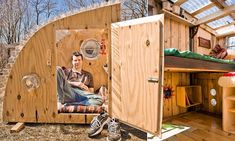 The charming Eco-friendly micro houses made from household junk for less than $200 Good.