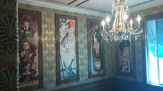 Haunted Mansion inspired home office