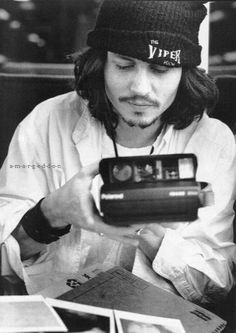 Mr Deep and Polaroid