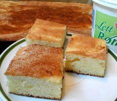 Scandinavian Food, I Love Food, Cornbread, Vanilla Cake, Tart, Cake Recipes, Sweet Tooth, Cheesecake, Food And Drink