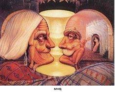 Casal de idosos [imagens duplas]