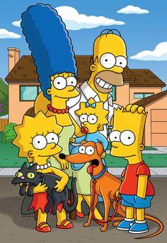 The Simpsons. Estos dibujos hacen que me evada y me ria con sus comentarios.