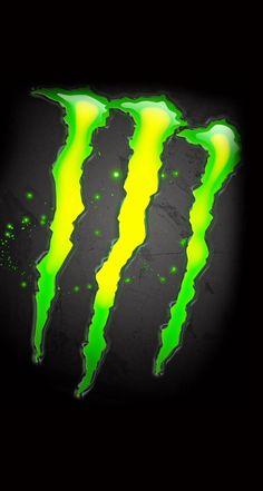 Monster energy 4k Wallpaper For Mobile, Iphone Wallpaper, Monster Energy Drink Logo, Bebidas Energéticas Monster, Energy Symbols, Energy Pictures, Drinks Logo, Monster Face, Backgrounds
