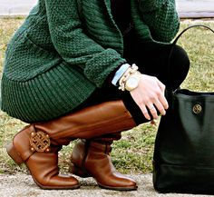 Tory Burch Riding Boots 2013 - I want these now!  I love all Tory Burch anything!