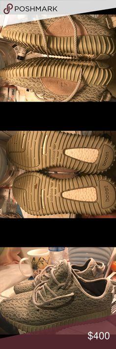 Yeezy Yeezy Yeezy Boost tamaño 9 hombre  Adidas zapatos Yeezy Moonrocks muerto 99086a