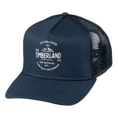 2071e0dc5bb Shop Timberland for the country classic  Mesh trucker hats. Timberland Hats