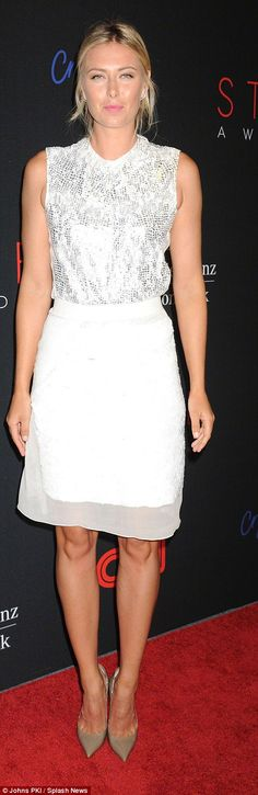 Maria Sharapova pictured at the 2013 STYLE Awards...