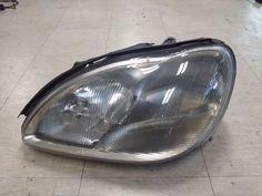 99-02 MERCEDES BENZ W220 S CLASS ORIGINAL  XENON HEADLIGHT/LAMP, LEFT/DRIVER #MercedesBenz