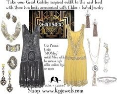 """Great Gatsby Inspiration"" by kendra-pinca on Polyvore"