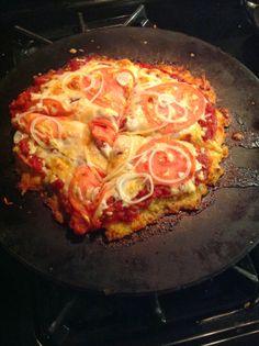 My 1-2-3 Cents: Cauliflower Pizza Crust