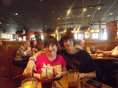 Me and my brother on his 18th birthday
