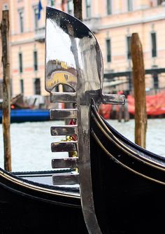 Venice Daily Photo - gondola detail