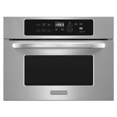 KitchenAid 24 Inch Built In Stainless Steel Microwave Oven