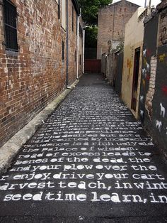 road poetry