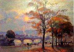 Robert Antoine Pinchon - Vue de Rouen