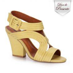 [ soft yellow sandals ]