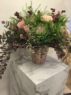 PRESENTATION FLOWERS ROUS ET MARIUS
