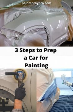 First, look over your cars finish and find any imperfections, rust, etc. and repair those areas. Look at your vehicle from all angles and in different lighting. The devil is in the details here, so take your time when spotting trouble areas. Car Paint Repair, Car Paint Jobs, Auto Paint, Car Repair, Best Paint Sprayer, Auto Body Work, Car Painting, Spray Painting, Custom Muscle Cars